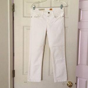 Anthropologie White Jeans